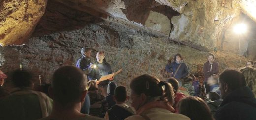 letture cavernicole Grotte di Villanova
