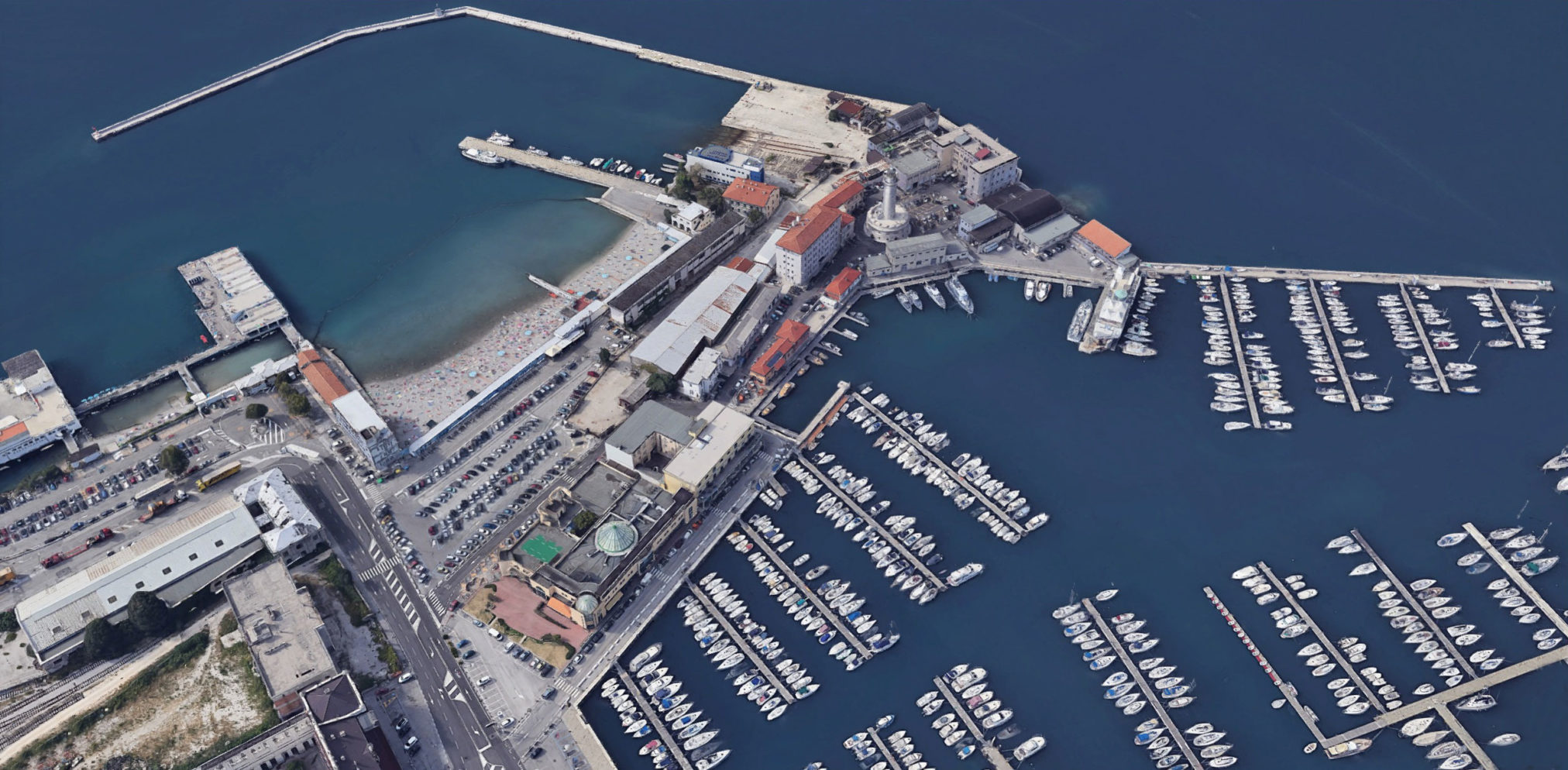 Campo Marzio Pedocin Lanterna Trieste