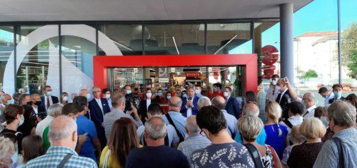 inaugurazione supermercato Despar via dell'Istria ex-Maddalena 10-8-2021