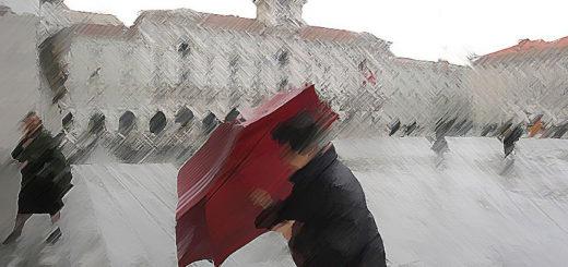 pioggia Trieste