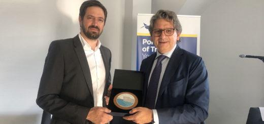 Zeno D'Agostino e il vice ministro ungherese