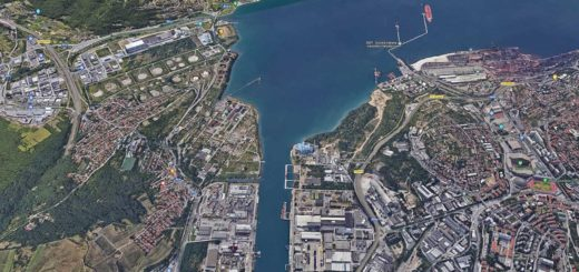 Trieste Servola Aquilinia porto