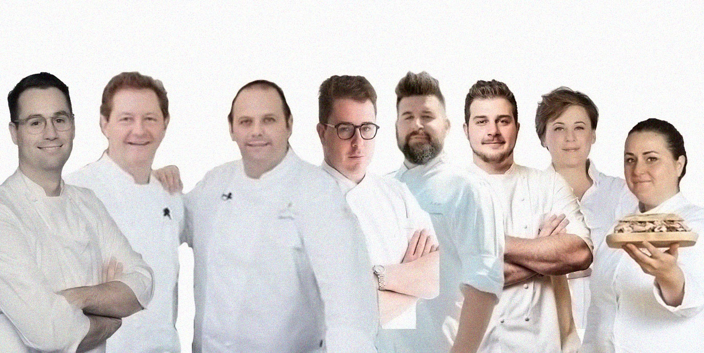 Giacomo Sacchetto, Chicco&Bobo Cerea,  Nino Rossi, Matteo Metullio & Davide De Pra, Antonia Klugmann, Caterina Ceraudo