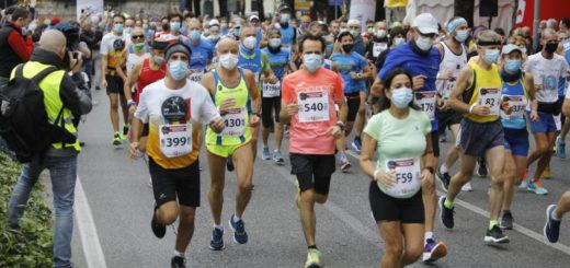 Maratonina Internazionale Città di Udine 2021 - partenza