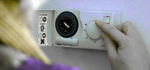 accensione riscaldamento termostato